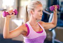 6 exercices avec haltères pour affiner ses bras