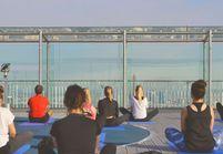 #ELLEBeautySpot : les cours de yoga au sommet de Paris