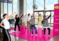 Prenez des cours de danse à l'aéroport