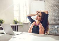 Comment soulager le mal de dos, assise au bureau