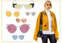 15 paires de lunettes teintées pour voir la vie en rose