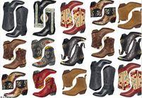 On veut toutes des bottes de cow-girl