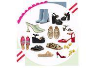 60 paires de chaussures soldées à shopper