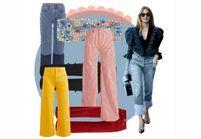 20 jeans taille haute qui font de belles fesses