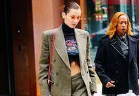 Bella Hadid prouve que le costume est définitivement cool
