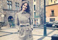 Ce manteau porté par Ophélie Meunier nous fait craquer !