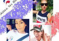 Coupe du monde 2018 : les plus beaux looks des stars pour soutenir les Bleus