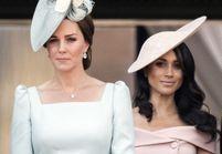 La reine d'Angleterre interdit à Meghan Markle et Kate Middleton de porter des talons compensés
