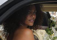 Tina Kunakey : découvrez sa sublime robe de mariée