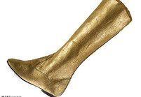 Comment porter les chaussures dorées ?