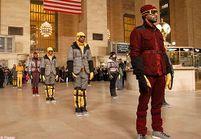 Les doudounes Moncler présentées en flash-mob à New York
