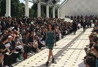 Burberry: les filles défilent aussi à la Fashion Week homme