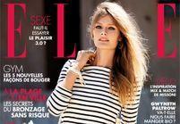 Constance Jablonski plus Bardot que jamais dans ELLE cette semaine