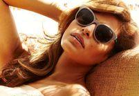 Eva Mendes, nouvelle égérie de Vogue Eyewear