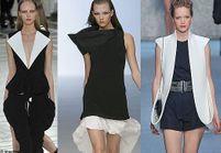 Fashion Week Paris : graphisme en noir et blanc