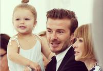 Harper Beckham n'était pas au défilé de sa mère