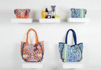 It pièce : les cabas colorés de Antik Batik x L'Occitane
