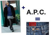 Kanye West pour A.P.C : nos pronostics sur la collection