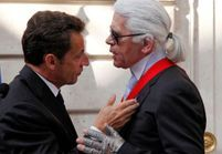 Karl Lagerfeld promu Commandeur de la Légion d'honneur