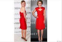 La petite robe rouge détrône la petite robe noire