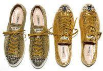 Les sneakers Miu Miu, le revival disco