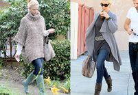 Match fashion : le cardigan vs le poncho