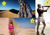 Publicités mode de l'été : toutes folles du désert !