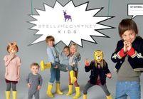 Stella McCartney lance sa collection pour les petits modeux!