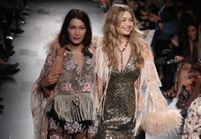 Bella Hadid vient au secours de sa sœur Gigi pendant la Fashion Week de New York
