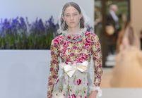 Haute Couture AH 18-19 : les jeunes filles en fleurs de Giambattista Valli