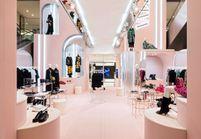 #ELLEfashionspot : le pop-up store Valentino au Printemps