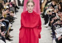 Fashion Week de Paris : le romantisme minimaliste de Valentino