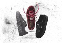 It pièce : les Creepers velours de Fenty Puma by Rihanna