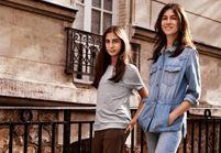 L'instant mode : Charlotte Gainsbourg et sa fille Alice réunies pour la mode