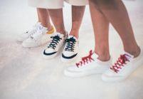 L'instant mode : Clio Goldbrenner met un pied dans les baskets