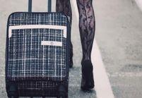 L'instant mode : Karl Lagerfeld et Carine Roitfeld présentent la nouvelle valise Coco Case de Chanel