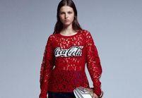 L'instant mode : Pinko fait pétiller la mode avec Coca-Cola