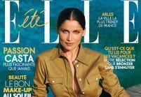 Laetitia Casta en couverture de ELLE cette semaine