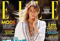 Le top Stella Maxwell en couverture de ELLE cette semaine