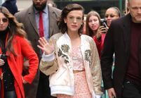 On veut le look pailleté de Millie Bobby Brown