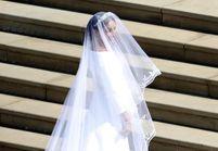 PHOTO - Mariage de Harry et Meghan : la première image de Meghan Markle dans sa robe de mariée