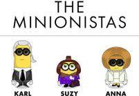 #PrêtàLiker : les Minions s'attaquent aux icônes de la mode