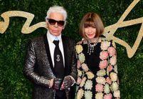 Quand Anna Wintour rend hommage à Karl Lagerfeld