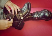 Street style: toutes en boots grunge!