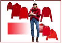 25 pulls rouges pour un look on fire