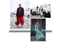 Street style : elles portent la robe habillée en journée