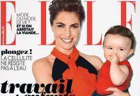 Alessandra Sublet en couv de ELLE avec sa fille !