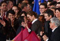 Benoît Hamon et sa femme Gabrielle Guallar : première sortie officielle ensemble au meeting du candidat