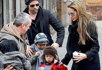 Brad Pitt et Angelina Jolie en escapade à Venise