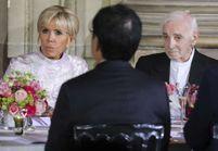 Brigitte Macron : son dîner au côté de Charles Aznavour quelques jours avant sa mort